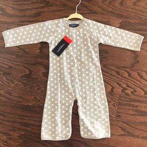 TOOBY DOO NEW YORK bootcut jumpsuit 12-18m